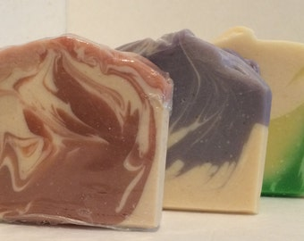 Floral Goat's Milk Soap