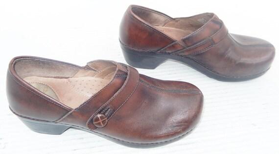 Dansko Women Brown Clogs Size 41 US size 10.5 11 by ...
