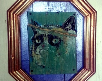Hand Made Grumpy Cat Picture
