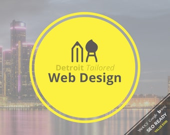 Web Design - Detroit Tailored Custom Web Design Package