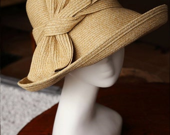 Women's summer straw hat-Straw Hat  -sun hat