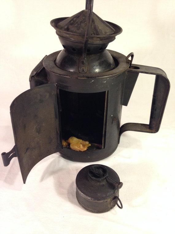 Antica Lanterna a Petrolio delle Ferrovie Italiane
