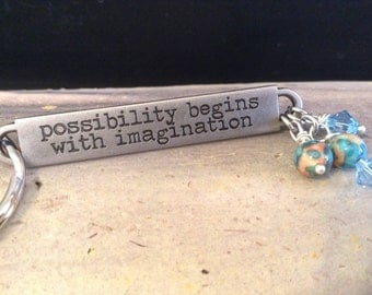 Inspirational Key Chain!