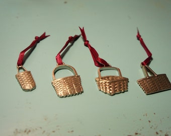 4 Different Longaberger Basket Charms
