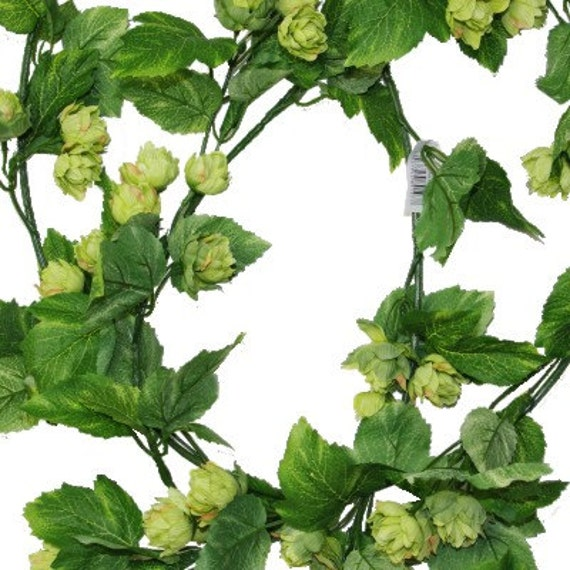 artificial hops vine fake hops garland great for displays