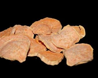 All Natural Dried Sweet Potato Dog Treat Chews