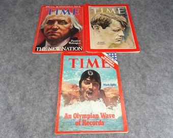 Set of 3 Time Magazines