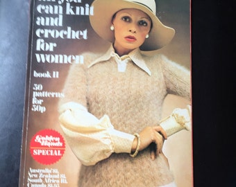 Vintage All You can Knit and Crochet for Women 11