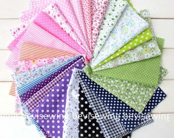 Buy 10 pcs, get 1free! Handmade Supply/cotton Fabric/Patchwork material/ Patchwork supply/Size:16*25cm