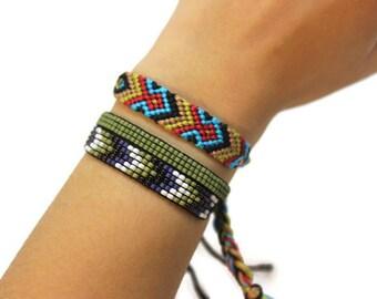 Shag Rug / Twisted Chevron / Friendship Bracelet
