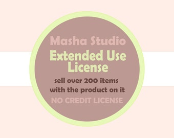 Extended Use License. Extended License for Commercial Use.