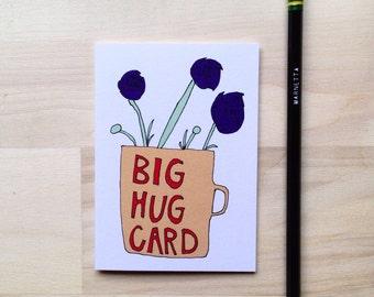 Big Hug Mug Card