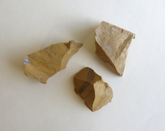 Raw Yellow Jasper chunks