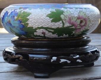 Zi Jin Cheng Cloisonne Bowl