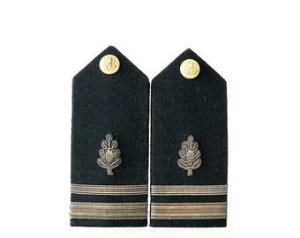 US Navy Shoulder Board Epaulettes