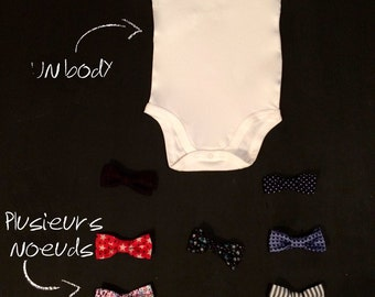 Body with removable bowtie