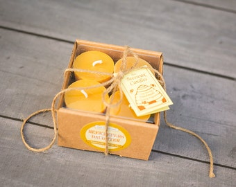 Beeswax Votives 4 Pack