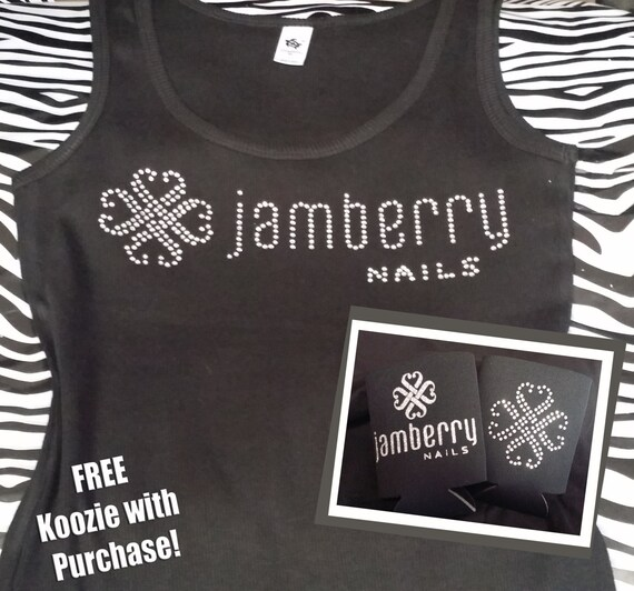 Jamberry nails shirt and koozie rhinestone by for Shirts and apparel koozie