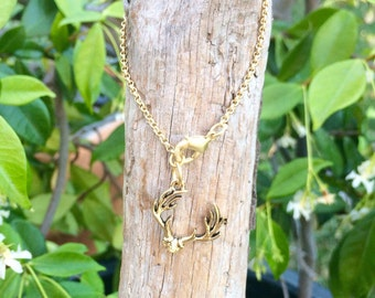 Gold Chain Charm Bracelet-Choose Your Charm!