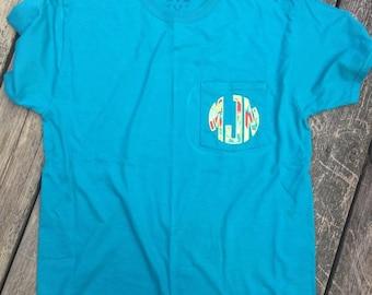 Monogrammed Applique Tshirt