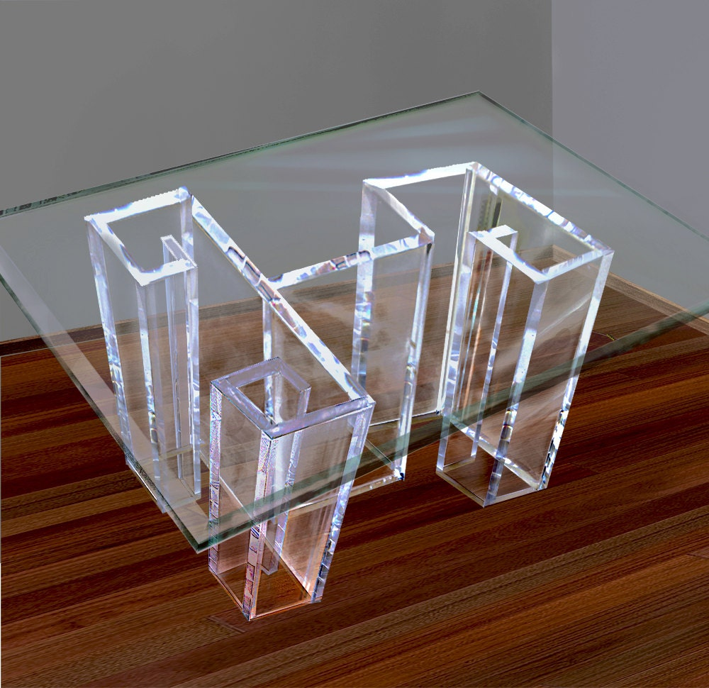 Acrylic Dining Table Base