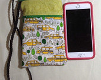 Cellphone purse, Shoulder bag, iPhone purse, passport purse