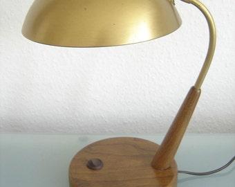 Rare Mid Century Modern TABLE LAMP Desk Light | 1950s | Tynell Stilnovo Sarfatti Era
