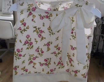 Girls clothing, kids, toddlers pretty cream top