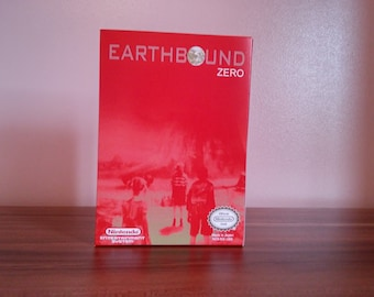 NES Earthbound Zero - Repro Box NO GAME Included