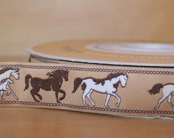 Brown Horses Ribbon