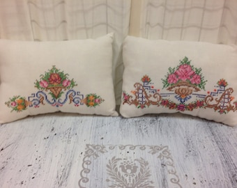Antique Linen pillows