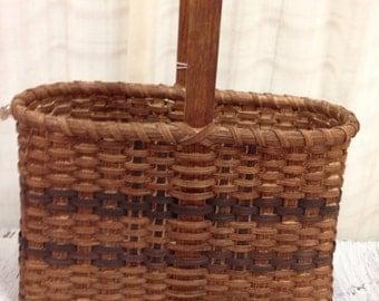 Tall gathering basket