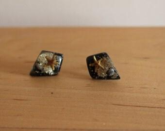 50s starfish and seashell earrings
