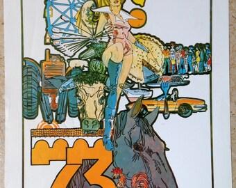 1973 Ventura County Fair Poster