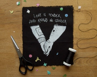 Love Is Tender And Knows No Gender patch