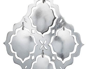 Taj Collection: Mystic Openings Lrg sterling silver earrings