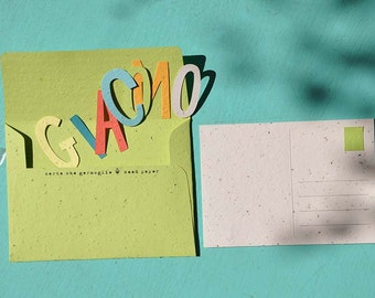 64 KIT-alphabet Letters in the paper that sprouts