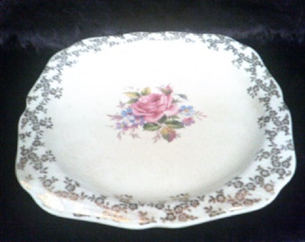 Cake Plate Elijah Cotton Lord Nelson Ware 3081