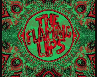 The Flaming Lips Official Hand-Printed Gigposter *ON SALE*