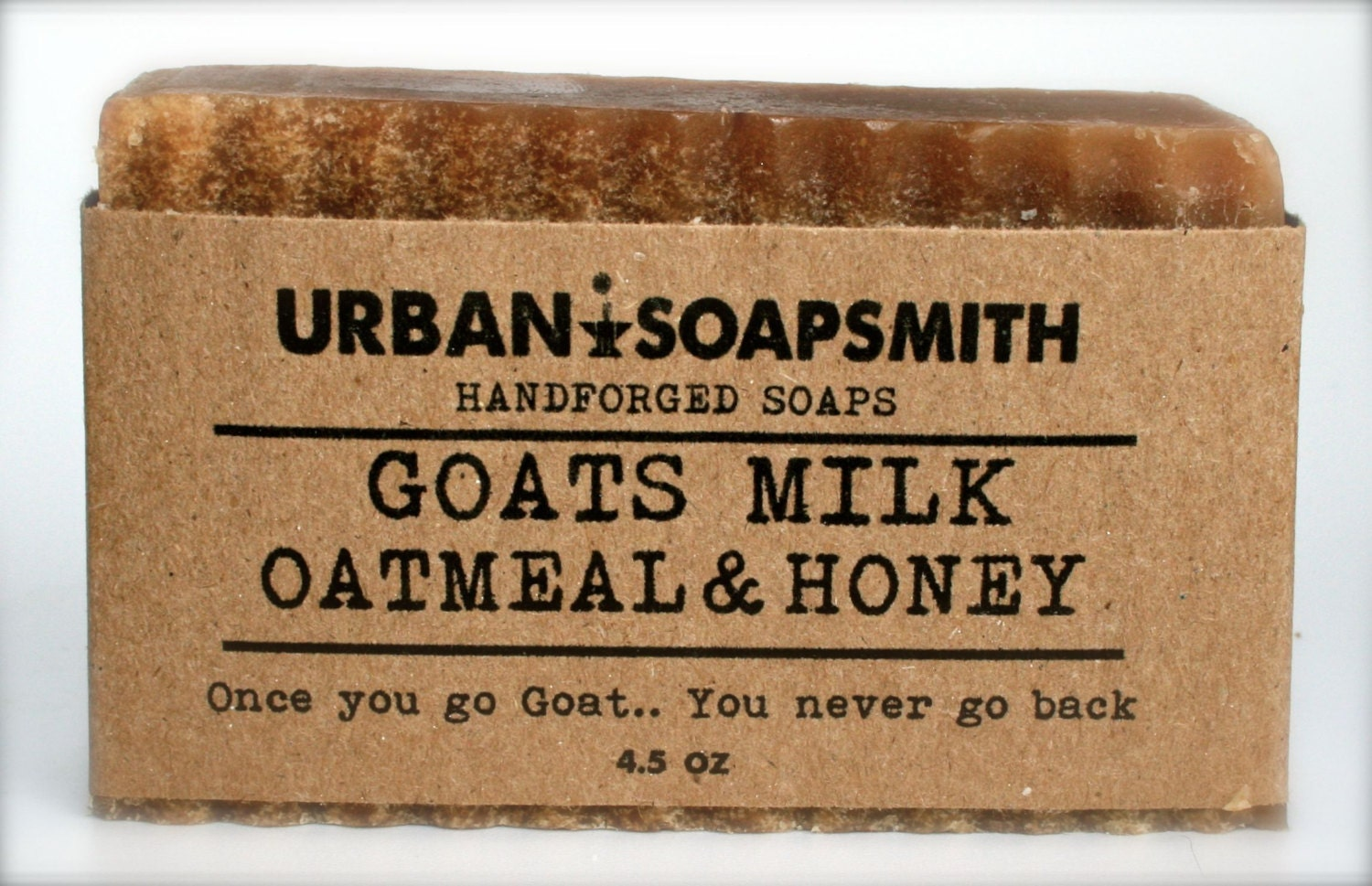 Oatmeal Goats Milk & Honey Cold Process Soap by UrbanSoapsmith