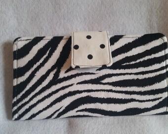 Zebra & Polka Dots Prints Wallet