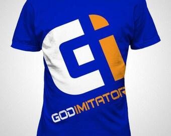 Men's God Imitators logo tee