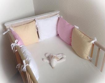 Handmade baby bedding set-11 PCs. 120x90cm