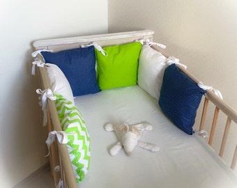 Handmade ❤️ baby bedding set ❤️ 11-PC. ❤️ 120x90cm