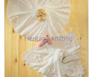 baby shawls 2 ply knitting pattern 99p pdf