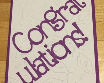 handmade graduation congratulations card