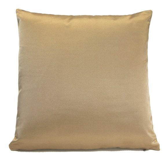 Beige Throw Pillow Covers : Light Gold Beige Pillow Throw Pillow Cover Decorative