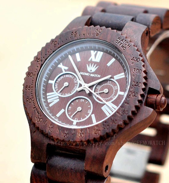 Wedding Gift For Groom Watch : Wood Watch, Groom Gift, Groomsmen Gift, Wedding Gift, Mens watch ...