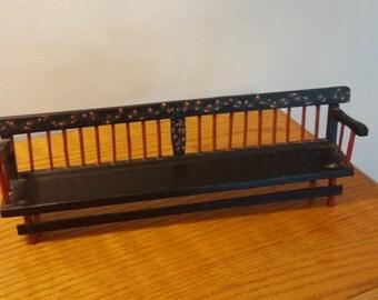 Miniature Deacan Bench Vintage