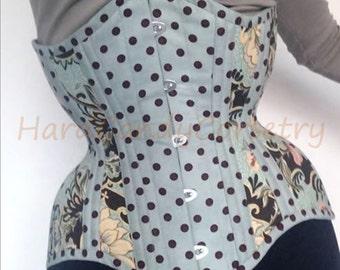 Flowers&PolkaDots waist training corset